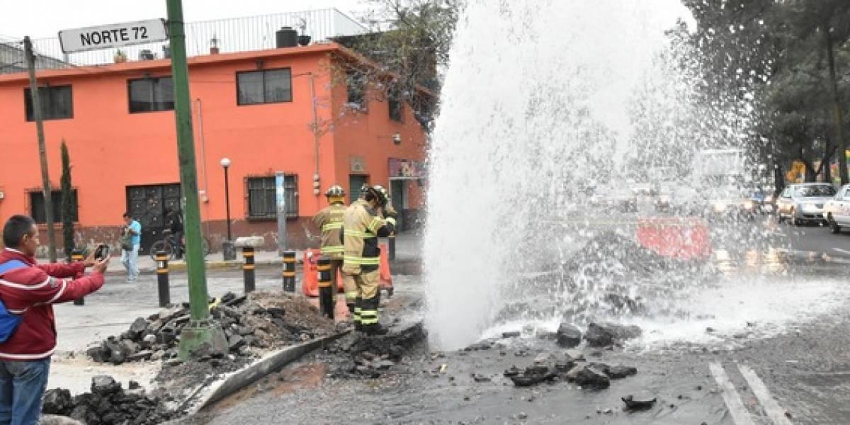Hasta 40% de agua potable se pierde en fugas: UNAM