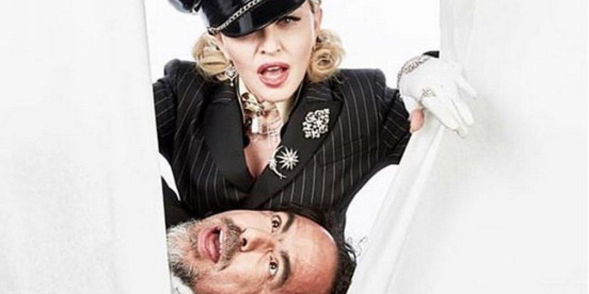 FOTOS: Madonna seduce a Del Toro e Iñárritu