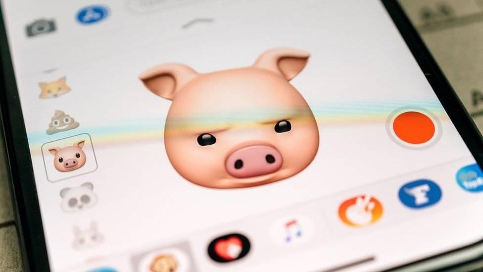 """Los """"animojis"""" fueron una de las grandes novedades del iPhone X de Apple. Getty Images"""
