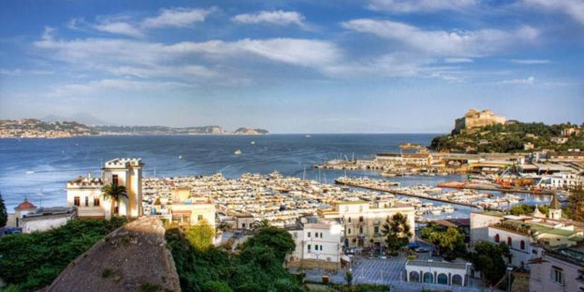 """A """"cidade do pecado"""" romana que acabou engolida pelo mar"""
