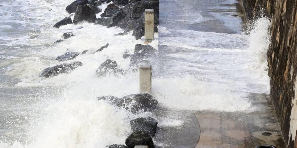 Marejadas provocan daños a trabajos de recuperación del DRNA