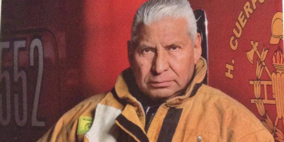 'Jefe Vulcano' deja la dirección del Heroico Cuerpo de Bomberos de la CDMX