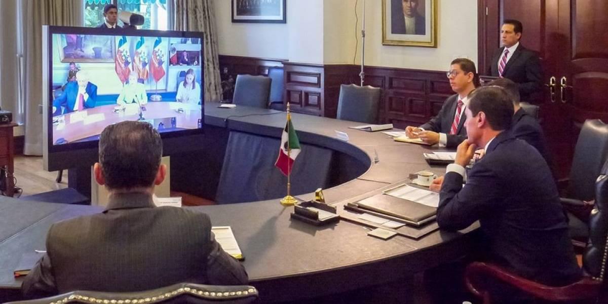 Peña Nieto dialoga con líderes integrantes de la Alianza del Pacífico