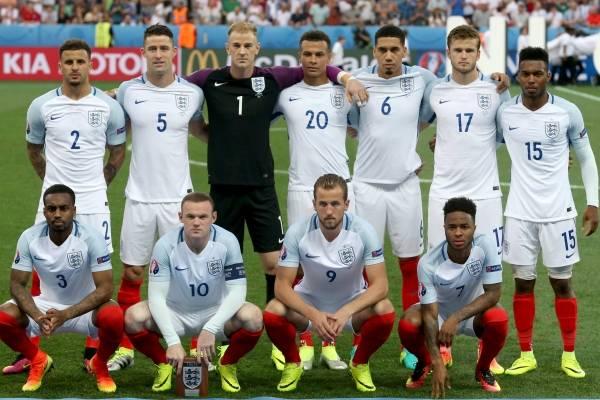 Inglaterra no participaría en Rusia 2018