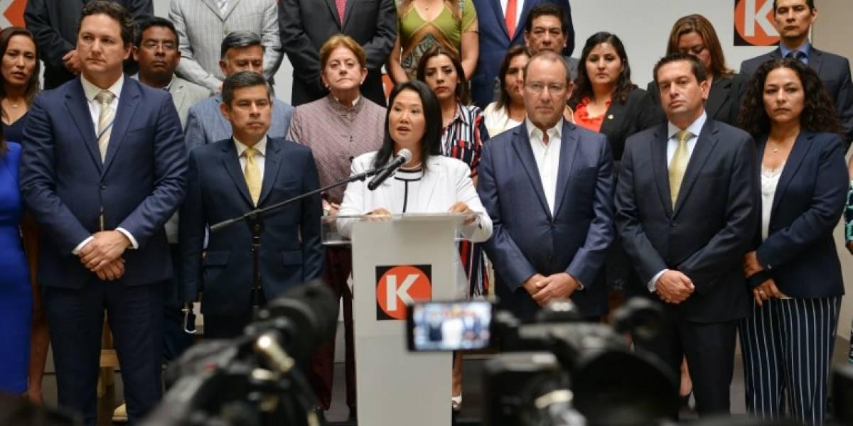 Caso Odebrecht: Allanan casas de allegados a Keiko Fujimori
