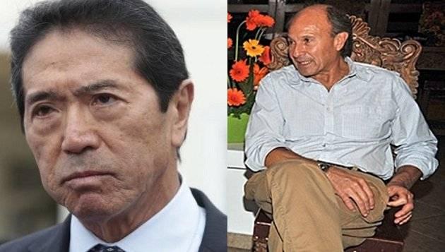 Jaime Yoshiyama y Augusto Bedoya