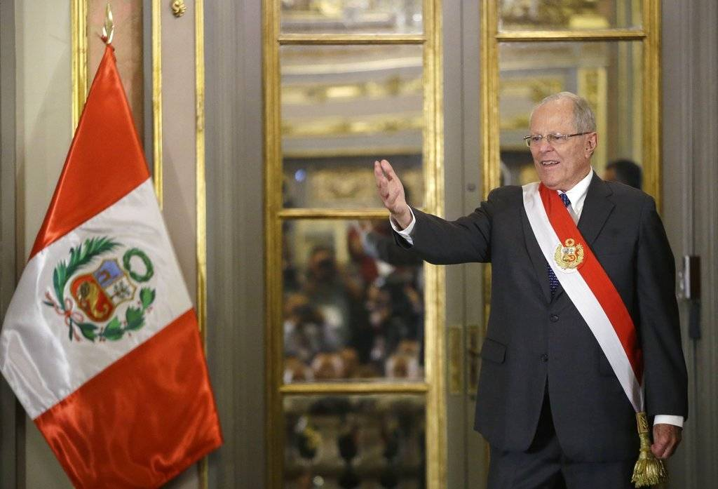 Pedro Pablo Kuczynski, presidente peruano