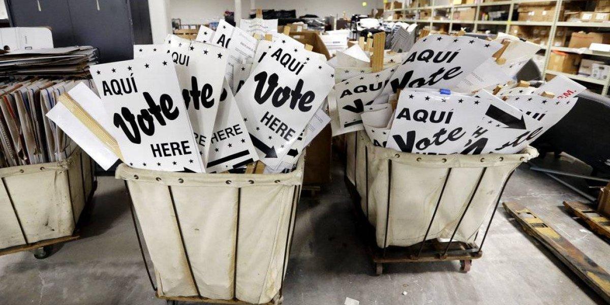 Texas vota en primeras elecciones primarias en EE. UU.