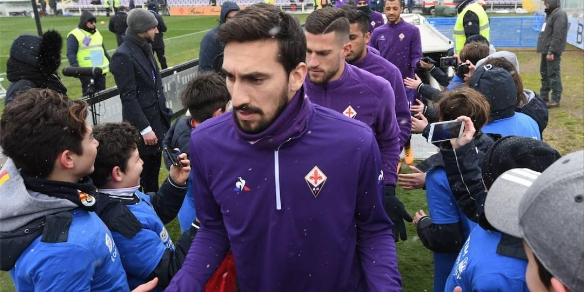 La Fiorentina realiza un nuevo homenaje a su fallecido capitán