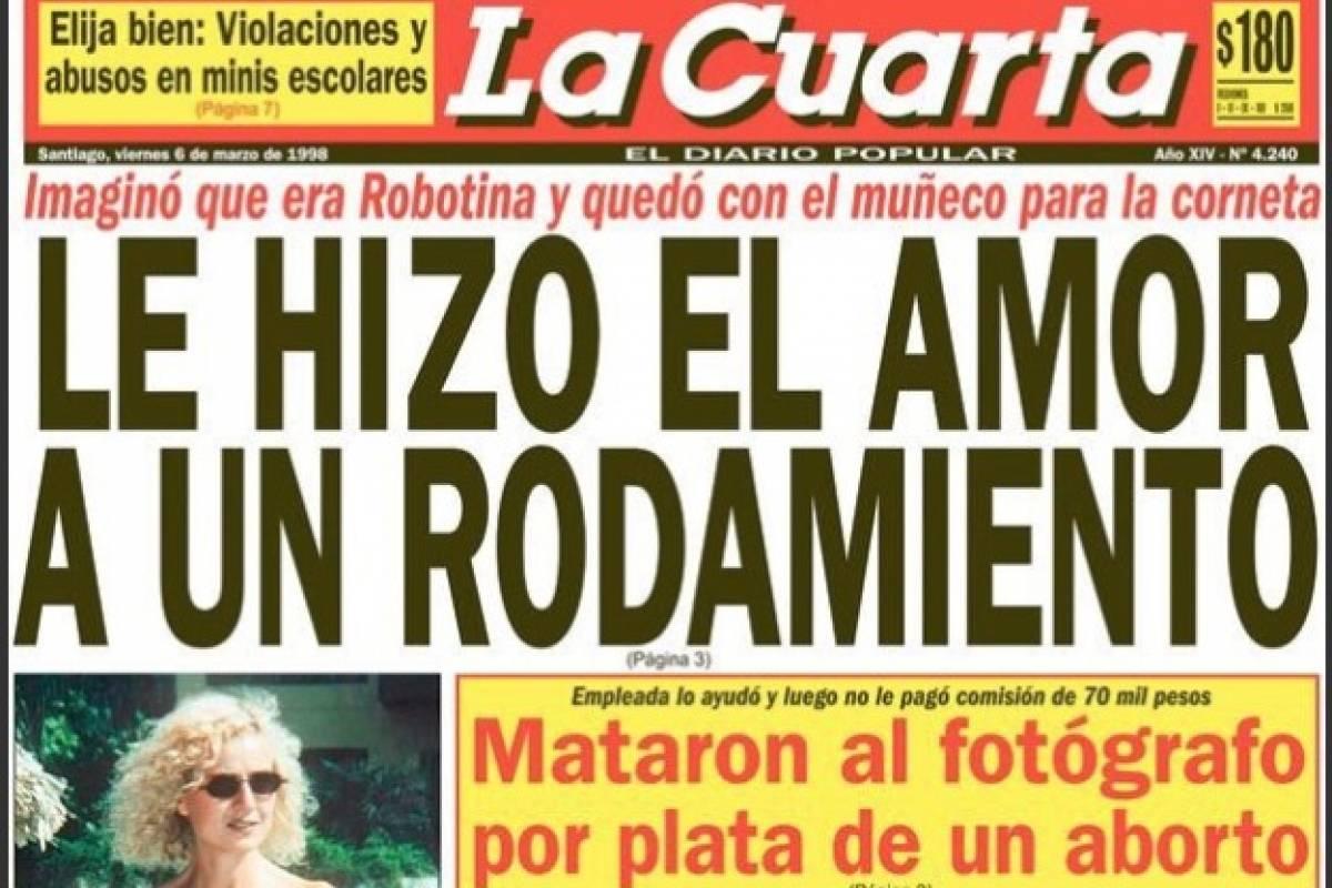 La Cuarta El Diario Popular   Una Jornada Para Recordar La Portada Mas Emblematica De Los Diarios