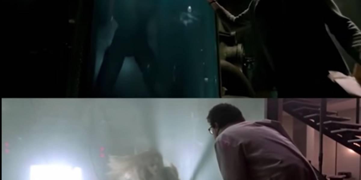 """El video que probaría que """"La forma del agua"""" es la copia de otra película"""