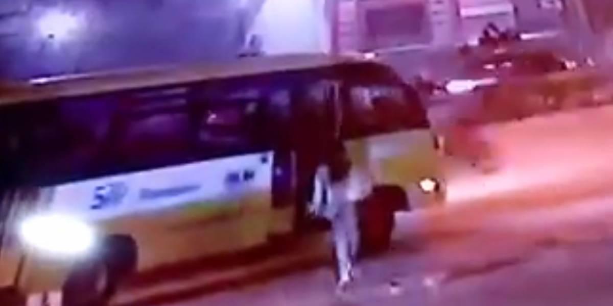 Con este video buscan al conductor del Sitp provisional que violó a joven de 18 años