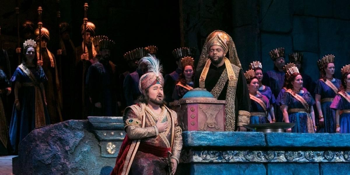 La ópera vuelve a Cine Colombia con 'Semíramis'