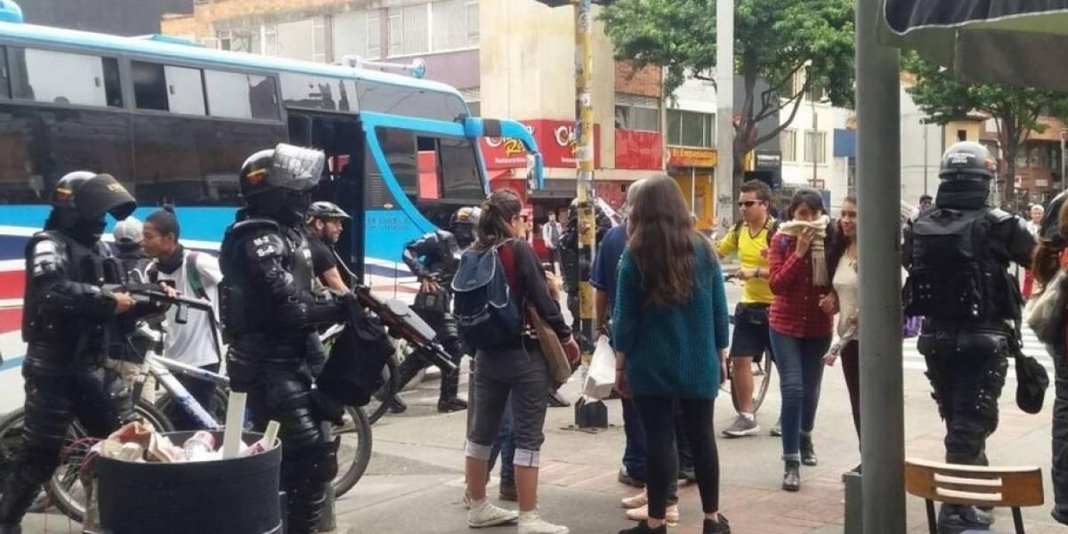 Cuatro heridos por explosión en la Universidad Pedagógica de Bogotá