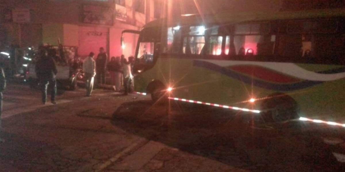 6 heridos por accidente de tránsito en el sector del Colegio Réplica Mejía