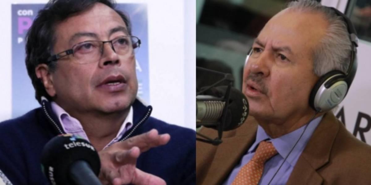 "Gustavo Petro: ""Darío Arizmendi se gana un salario inmenso por insultarme"""
