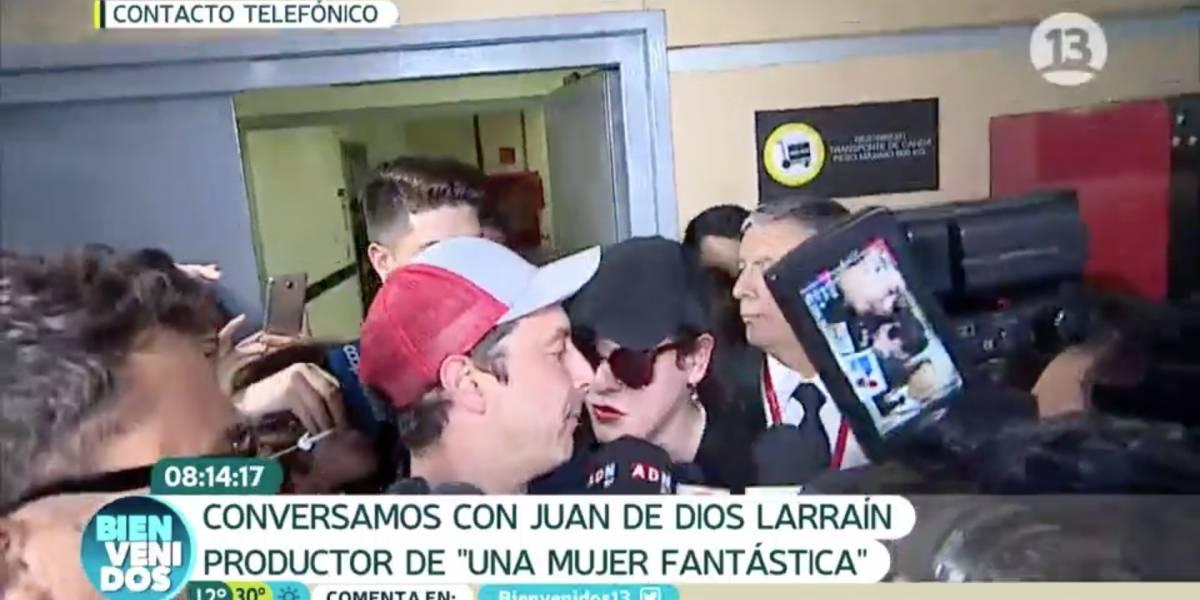 "La caótica llegada de Daniela Vega a Chile tras el Oscar de ""Una mujer fantástica"""