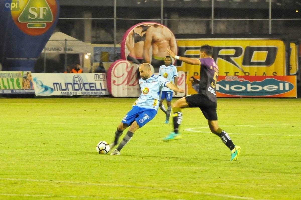 API Campeonato Ecuatoriano: Macará vence 2 a 1 al Delfín