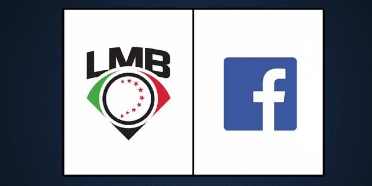 Partidos de la Liga Mexicana de Beisbol se transmitirán por Facebook