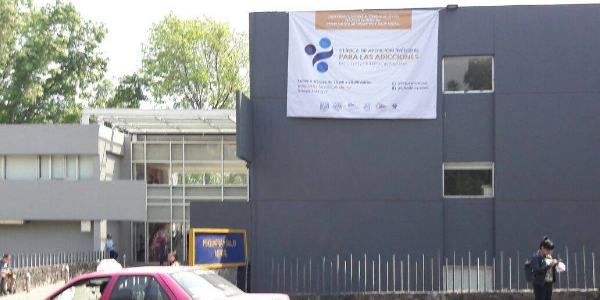 UNAM abre clínica para atender adicciones