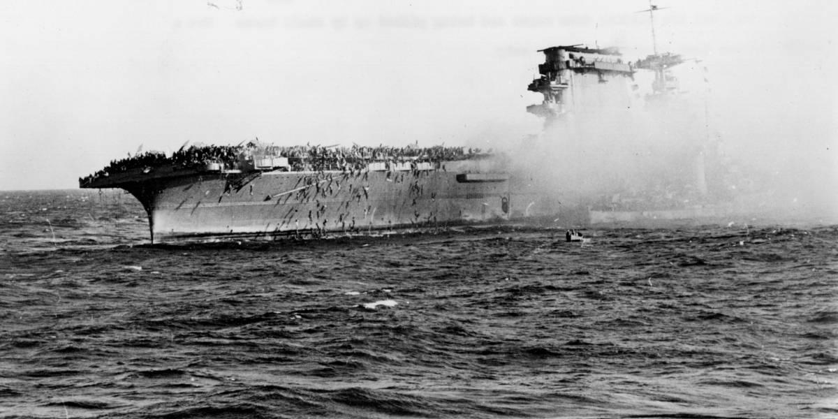 Descubren los restos del portaaviones Lexington, hundido en la II Guerra Mundial