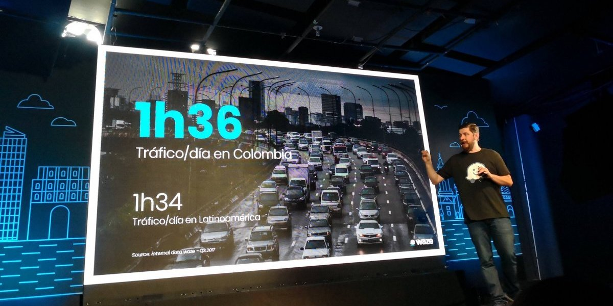 """""""Bogotá es la segunda ciudad con peor tráfico en el mundo"""": Waze Colombia"""
