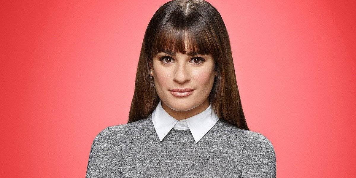FOTO. Lea Michele es traicionada por su escote y enseña de más