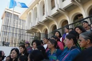 manifestación frente a CSJ por caso Hogar Seguro
