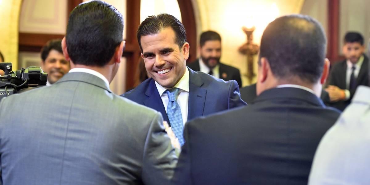 Las caras en el mensaje del Gobernador