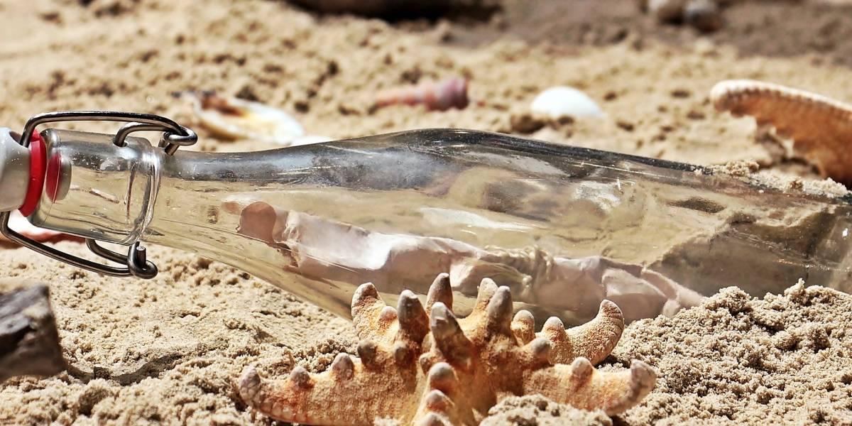 Encuentran mensaje de hace 131 años dentro de una botella de ginebra