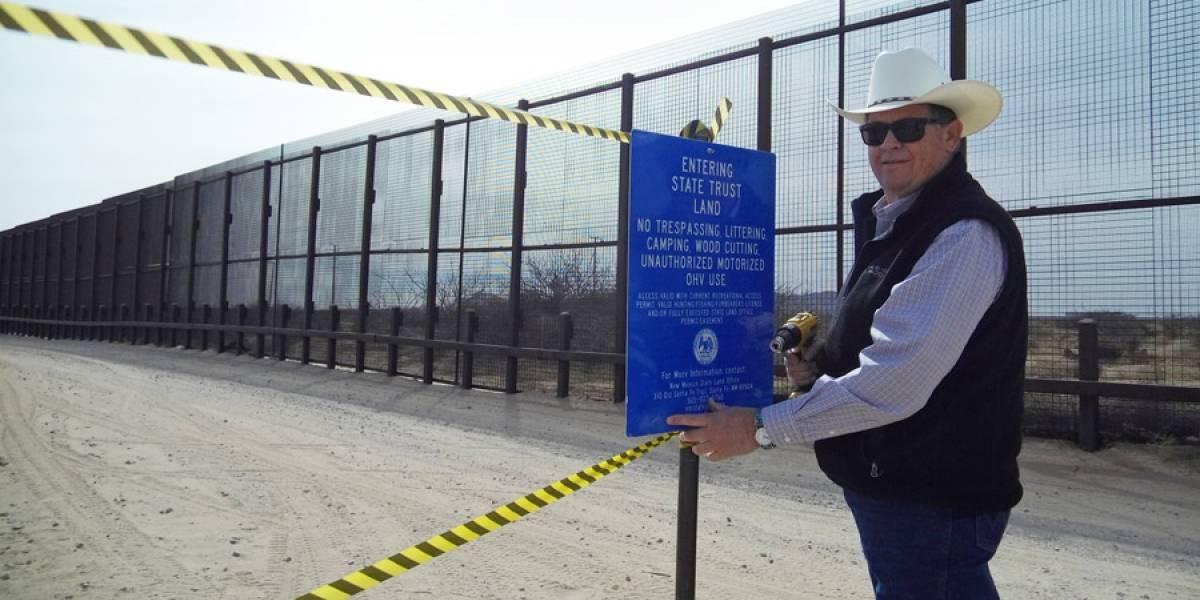 Nuevo México en pleito con gobierno federal por muro