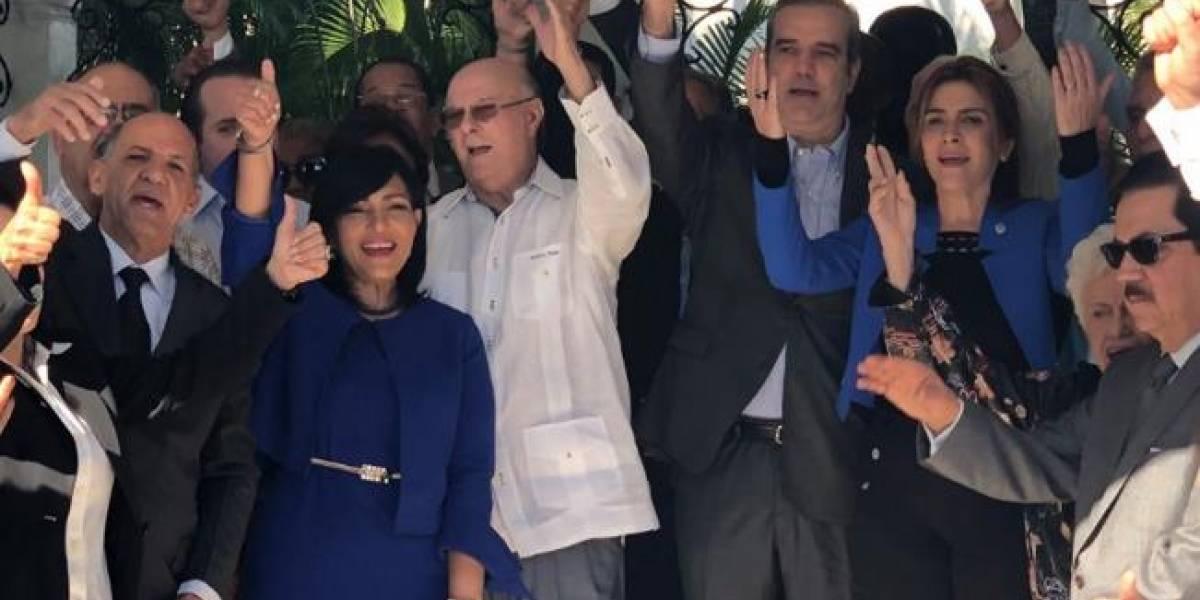 PRM jura ante tumba de Peña Gómez no dividirse