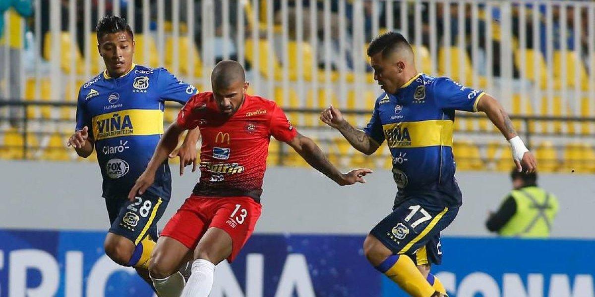 Así vivimos la eliminación de Everton ante Caracas por la Sudamericana