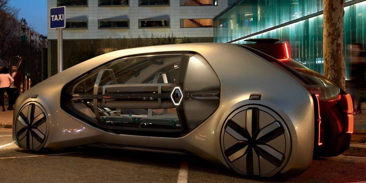 Renault abre su camino entre los vehículos autonómos con el EZ-GO