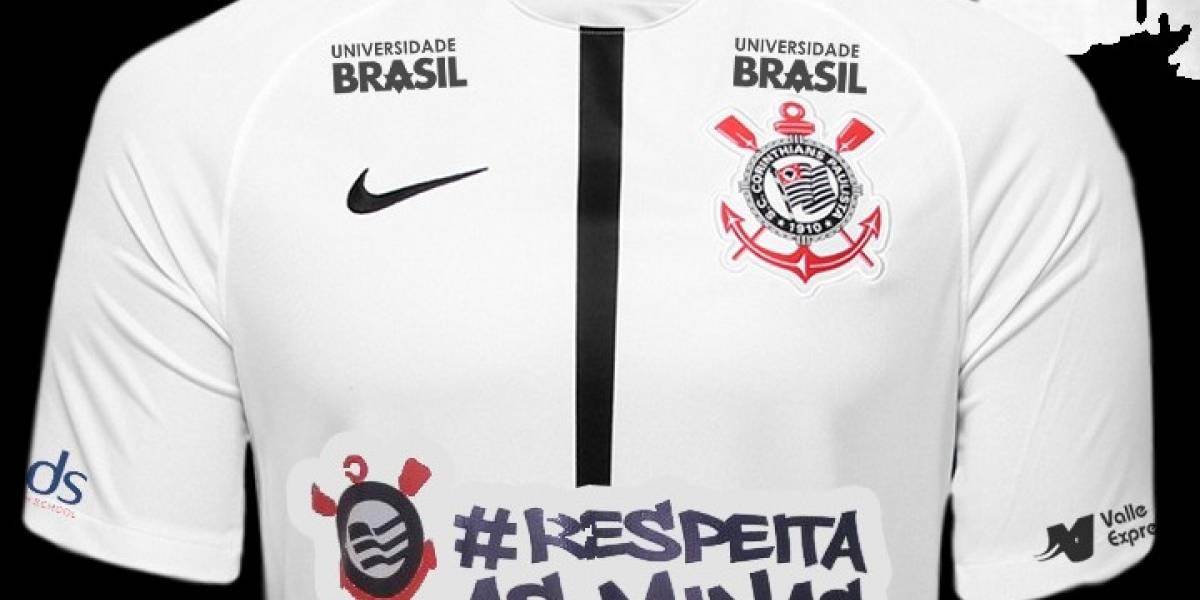 Jogadores do Corinthians entrarão em campo com a frase 'respeita as mina' na camisa