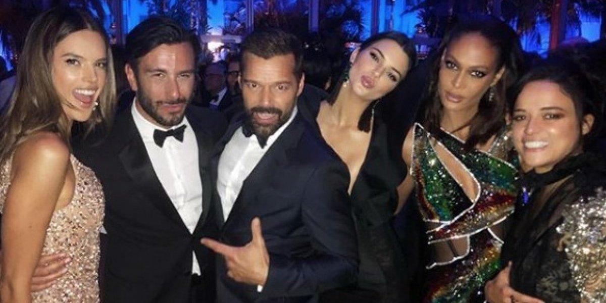 Boricuas encendieron fiesta de Vanity Fair con Kendall Jenner