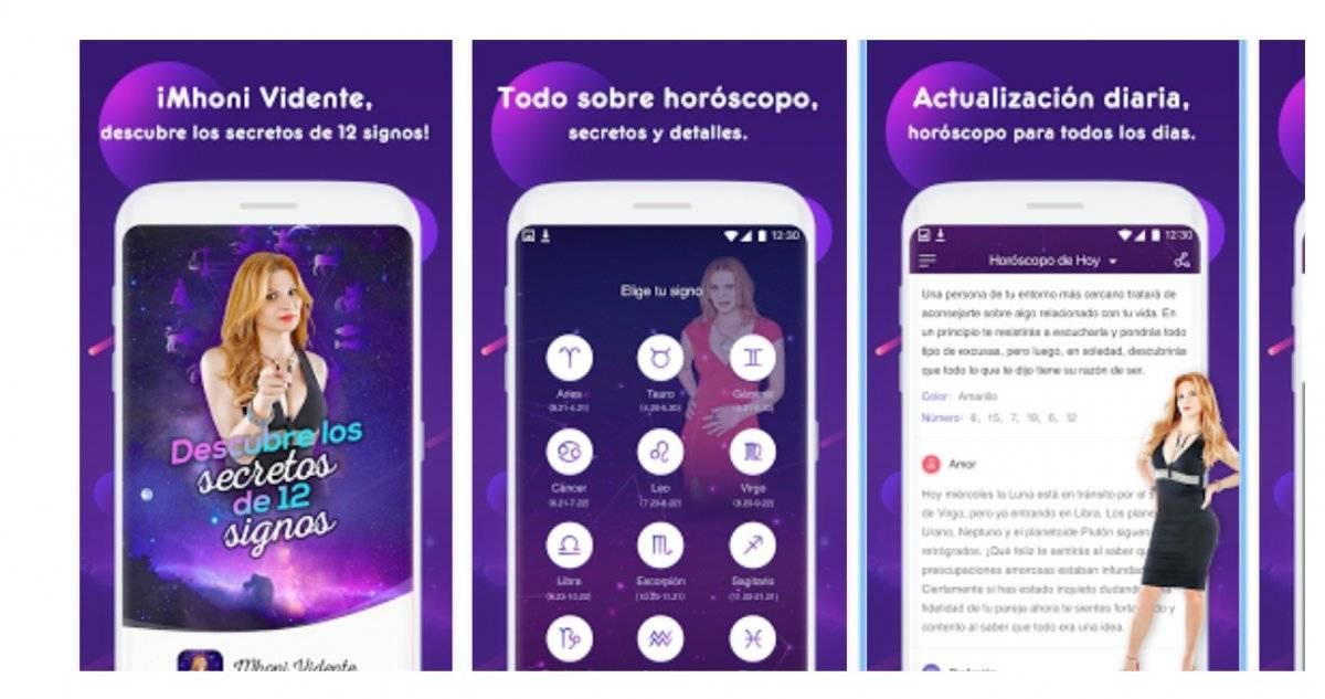 Mhoni Vidente aplicación