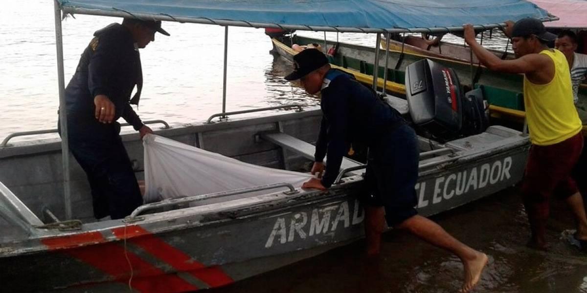Armada de Ecuador rescató cuerpo de hispano-venezolano desaparecido en un río