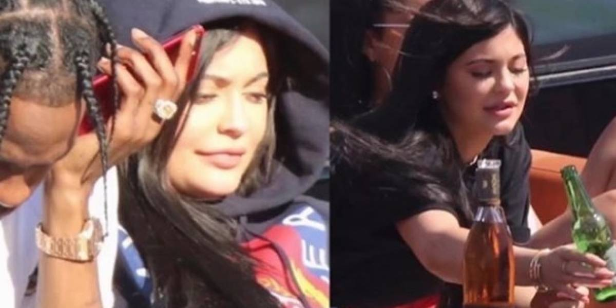 Kylie Jenner y Travis Scott se fueron de vacaciones juntos y enfurecieron al Internet