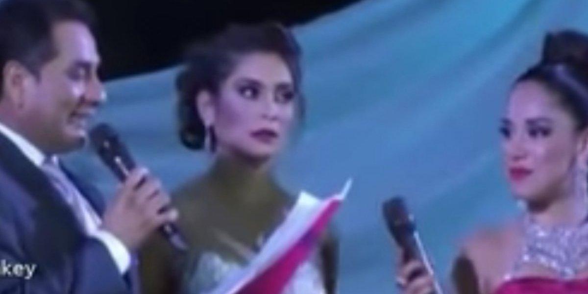 Su respuesta le costó la corona en certamen de belleza en Perú