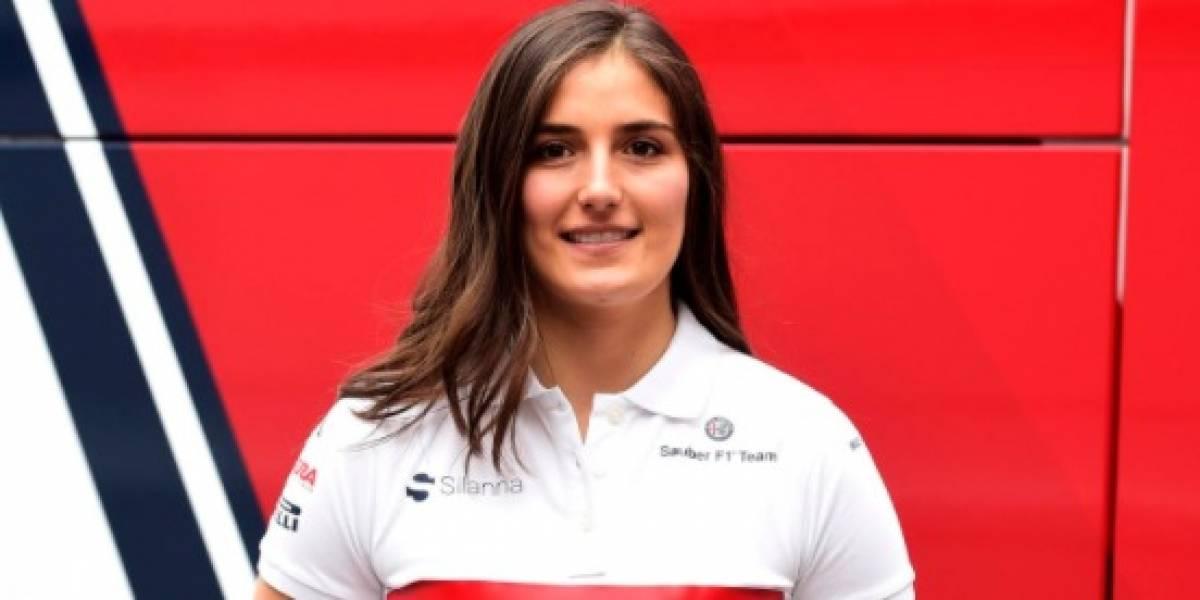 Sauber confirma a Tatiana Calderón como nueva piloto de pruebas en F1