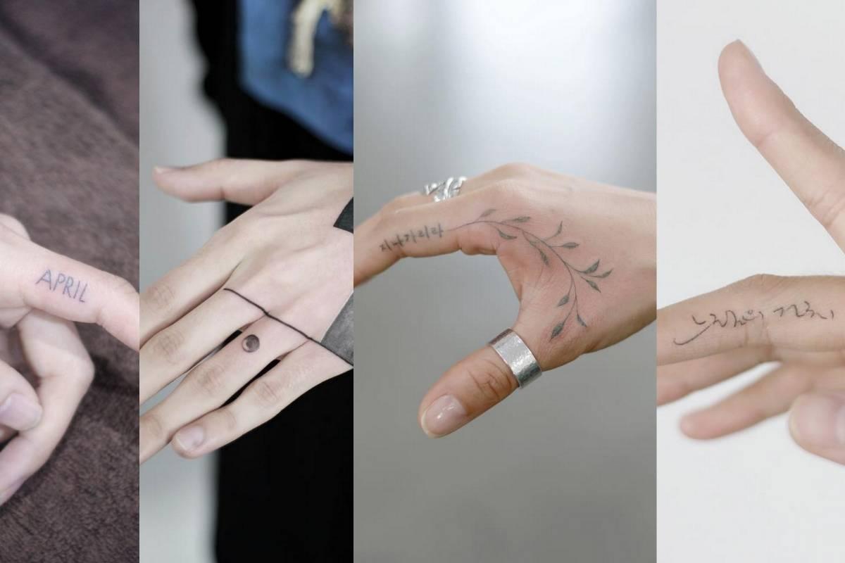 Los Diseños De Tatuajes Para Dedos Que Querrás Tener Nueva Mujer