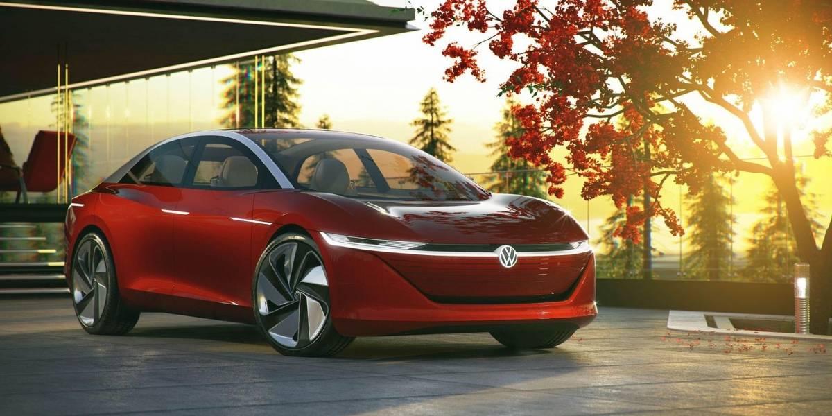 Volkswagen presenta el I.D. Vizzion con 665 km de autonomía