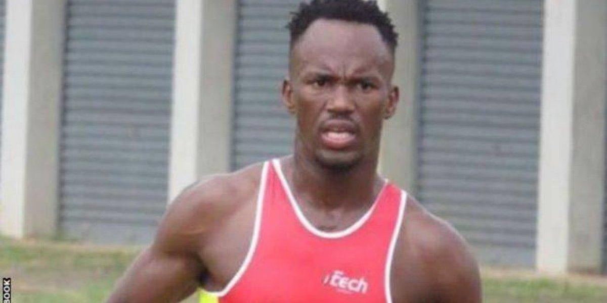 Serruchan las piernas de triatleta internacional en pleno entrenamiento