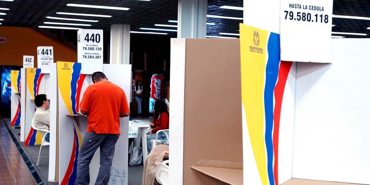 Estos son los cierres en Bogotá para las elecciones del domingo 11 de marzo