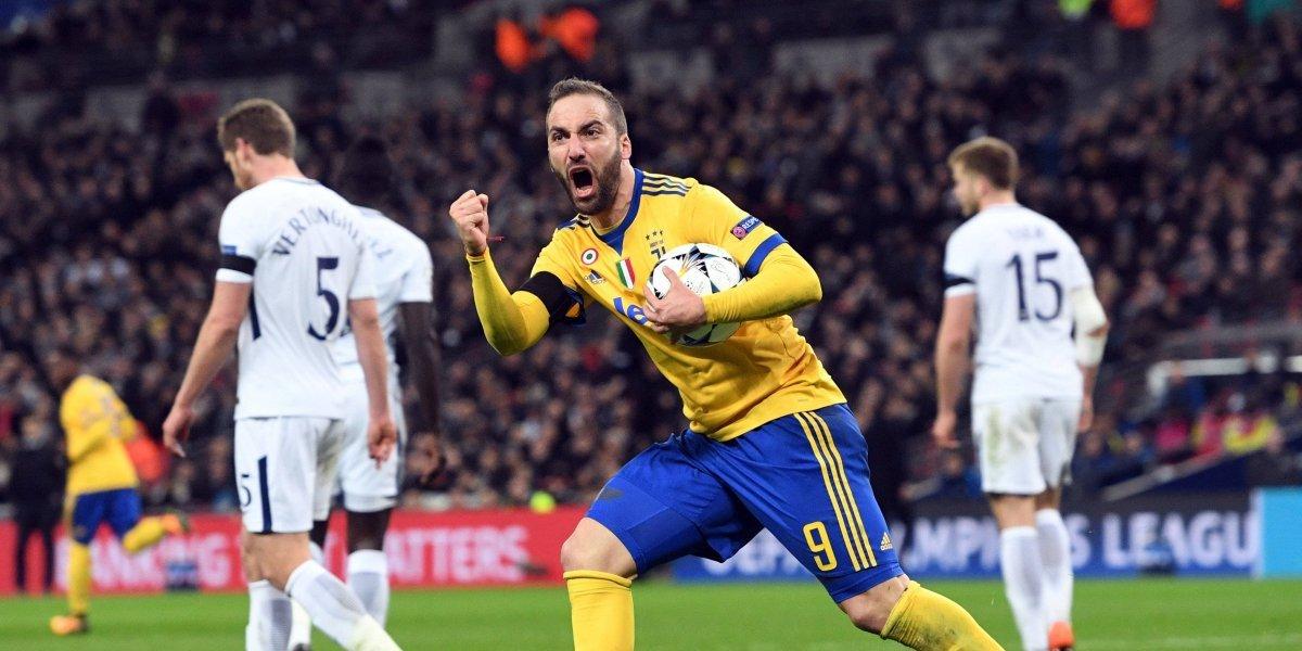 ¡El tango de la muerte! Higuaín y Dybala eliminaron al Tottenham de Davinson Sánchez