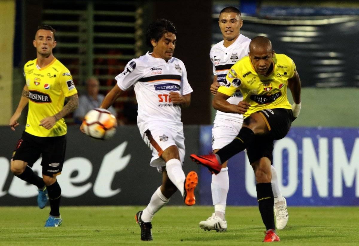 Copa Sudamericana: Barcelona SC, el equipo ecuatoriano más eliminado