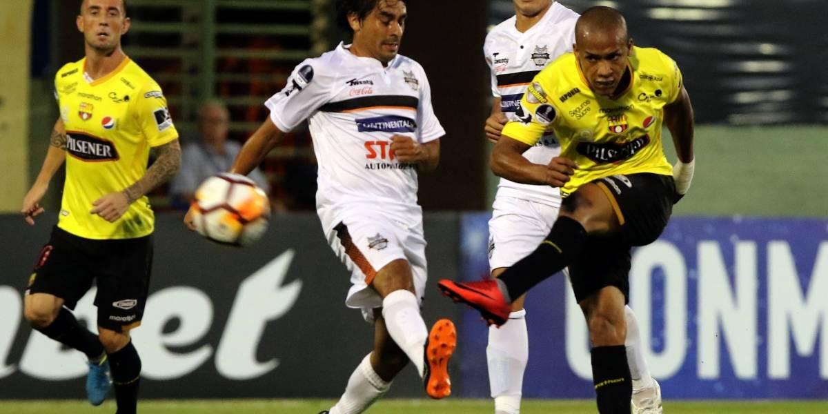 Copa Sudamericana: Barcelona SC queda eliminado tras perder con General Díaz