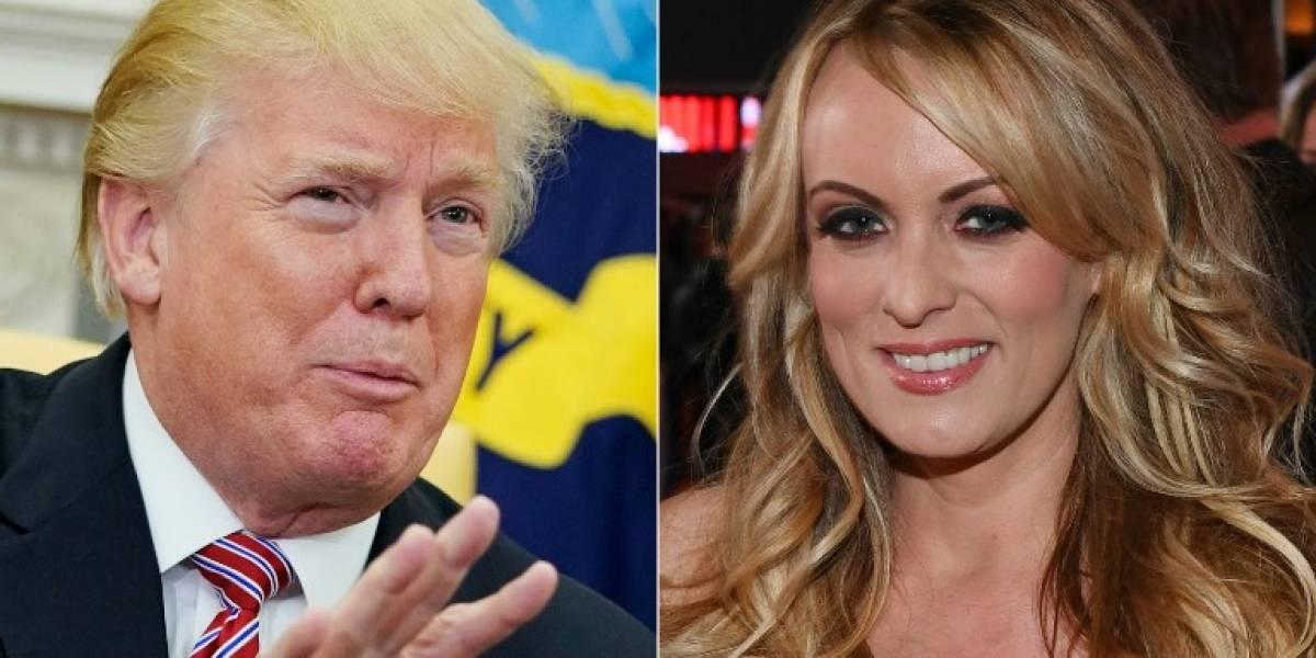 Trump revela formalmente el reembolso al abogado que le pagó a Stormy Daniels