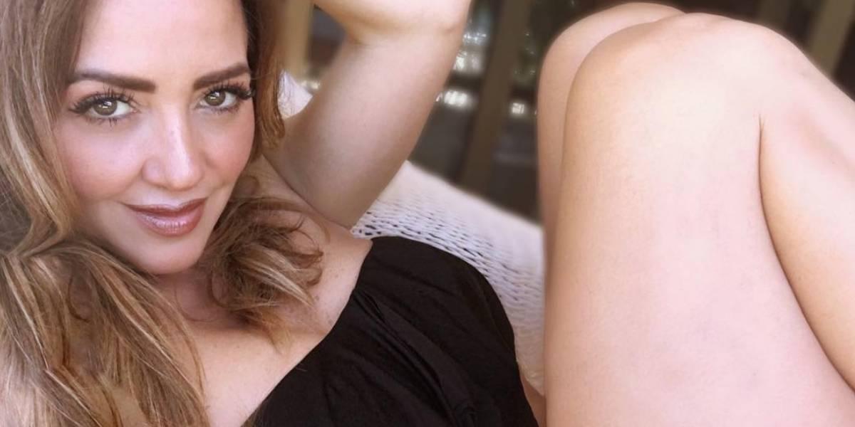 Andrea Legarreta habla de las fantasías sexuales de su marido con otras mujeres